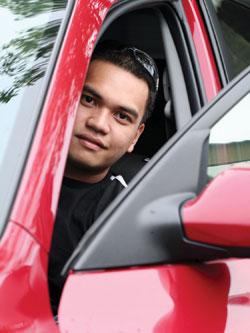 LifeSafer Ignition Interlock Driver In Car