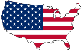 LifeSafer Ignition Interlock USA Map Flag Icon