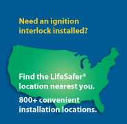 LifeSafer is the leading provider of Ignition Interlock Devices With Over 800 Locations