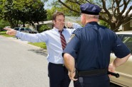 Field Sobriety Test to detect drunk driving