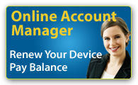 Renew Your Device or Pay Balance Online
