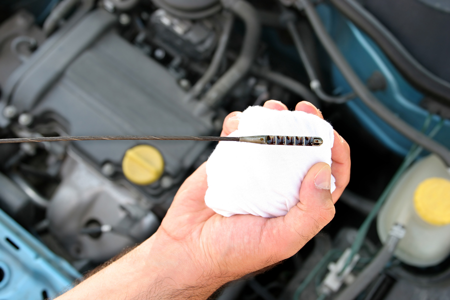how to change my oil
