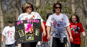 Families of drunk driving victims Walk Like MADD