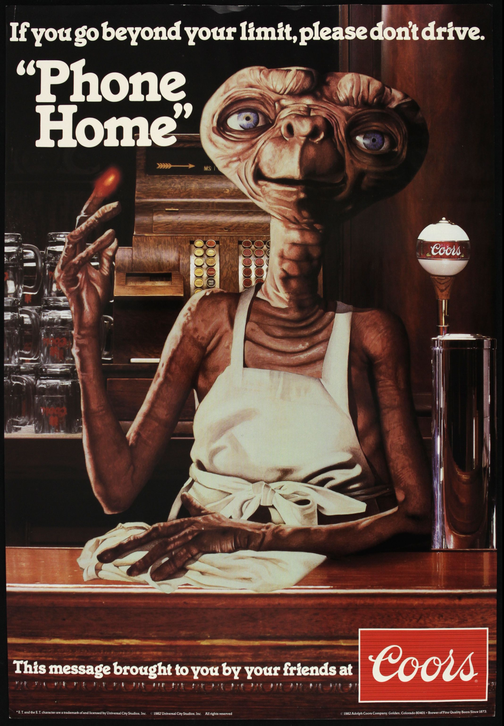 Extraterrestrial Advice On Drunk Driving
