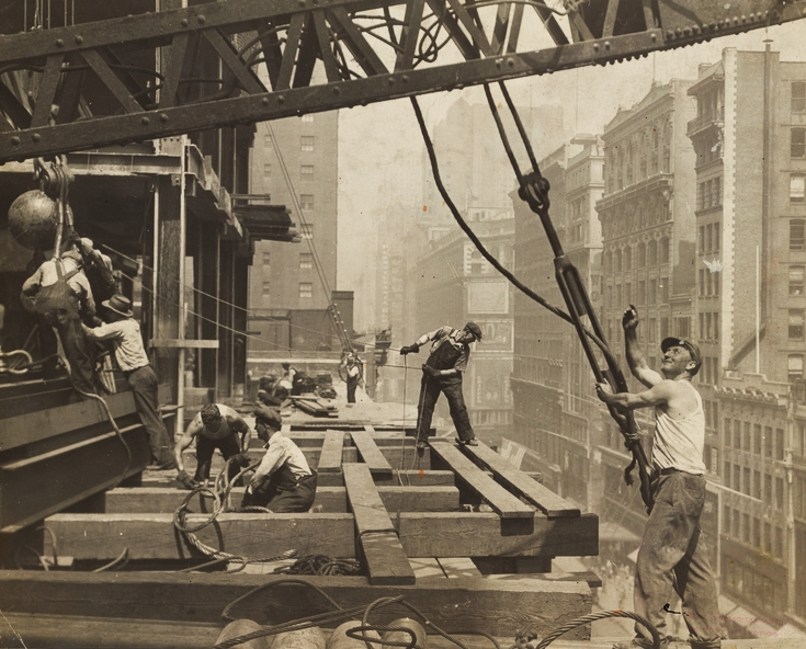 Labor day honors the countless workers who sacrificed to build this