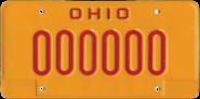 Ohio OVI Plate