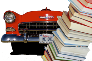 California drunk driver hits library