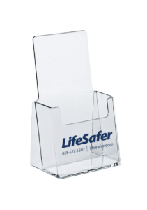 lifesafer rack card holder